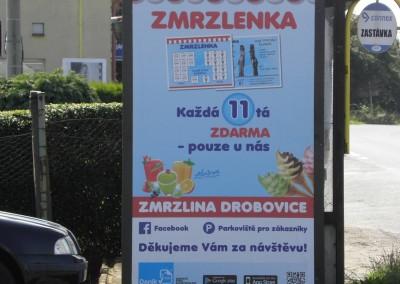Reklamní plocha vDrobovicích (u Čáslavi)